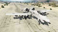 Fairchild Republic A-10A Thunderbolt II v1.2 para GTA 5