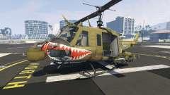 Bell UH-1D Iroquois Huey Gunship