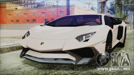 Lamborghini Aventador SV 2015 para GTA San Andreas