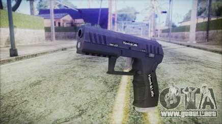 GTA 5 Combat Pistol v2 - Misterix 4 Weapons para GTA San Andreas