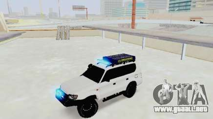 Toyota Land Cruiser Prado off-road LED para GTA San Andreas