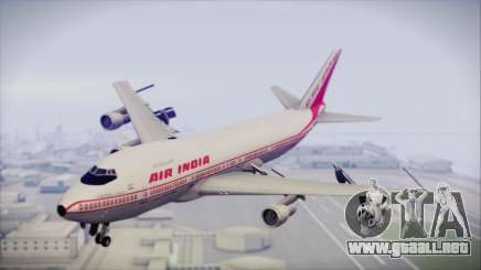 Boeing 747-237Bs Air India Mahendra Verman para GTA San Andreas