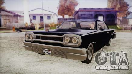 GTA 5 Declasse Clean Voodoo Hydra Version IVF para GTA San Andreas