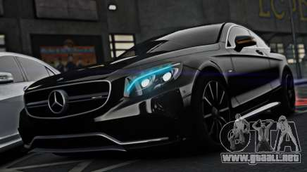 Mercedes-Benz S63 Coupe AMG 2015 para GTA 4