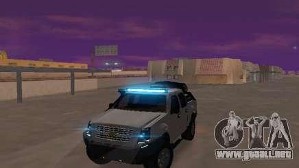Chevrolet LUV D-MAX 2014 OffRoad (IVF) para GTA San Andreas