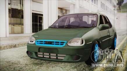 Chevrolet Corsa para GTA San Andreas