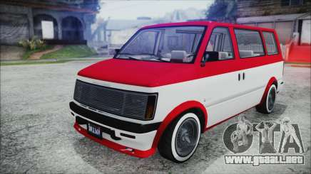 GTA 5 Declasse Moonbeam Bobble Version IVF para GTA San Andreas
