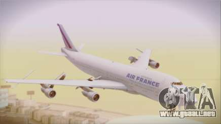 Boeing 747-128B Air France para GTA San Andreas