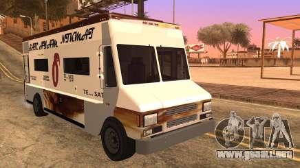 Sate Ayam (Chicken Satay) Van para GTA San Andreas