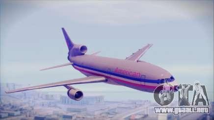 Lockheed L-1011 Tristar American Airlines para GTA San Andreas