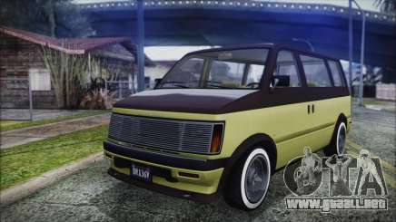 GTA 5 Declasse Moonbeam Custom para GTA San Andreas