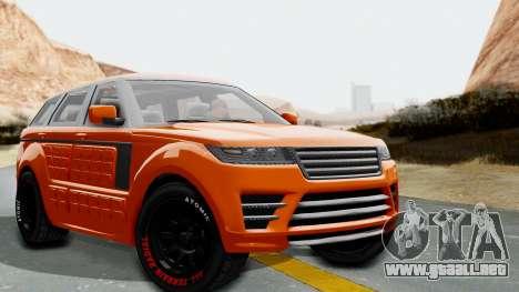 GTA 5 Gallivanter Baller LE Arm IVF para GTA San Andreas