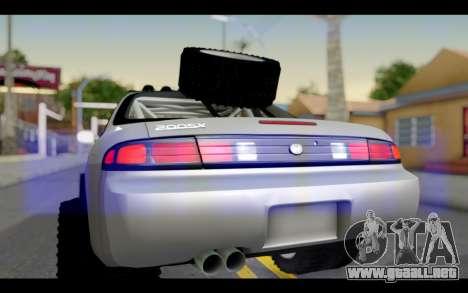 Nissan Silvia S14 Rusty Rebel para la visión correcta GTA San Andreas