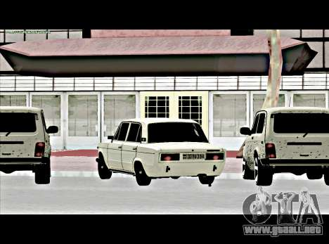 VAZ 2106 [ARM] para GTA San Andreas left