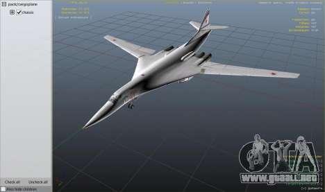 GTA 5 Tu-160 White Swan octavo captura de pantalla