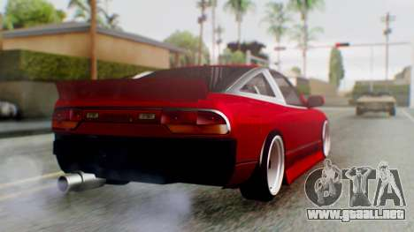 Nissan 240SX Drift v2 para GTA San Andreas left