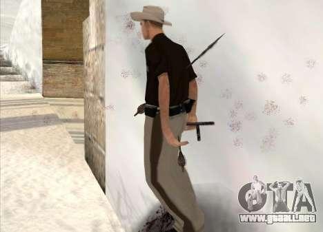 Tiro con arco para GTA San Andreas quinta pantalla