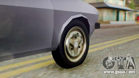 Dacia 1310 v2 para GTA San Andreas vista posterior izquierda