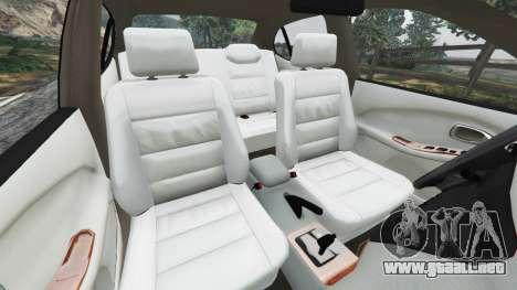 Daewoo Leganza US 2001 para GTA 5