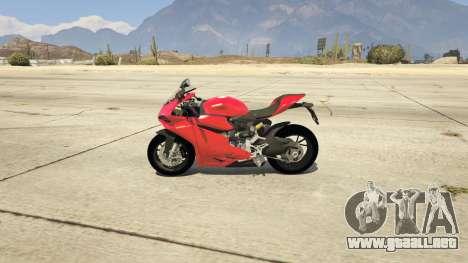 GTA 5 Ducati 1299 Panigale S v1.1 vista lateral izquierda
