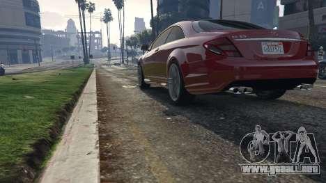 GTA 5 Mercedes-Benz E63 AMG v2.1 vista trasera