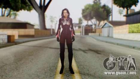 Jillanna para GTA San Andreas segunda pantalla