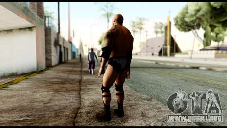 WWE The Rock para GTA San Andreas tercera pantalla