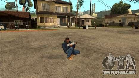 Animación adicional TEC-9 para GTA San Andreas tercera pantalla