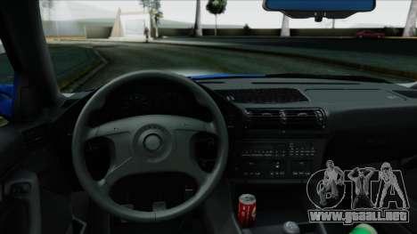 BMW M5 E34 US-spec 1994 (Full Tunable) para la visión correcta GTA San Andreas