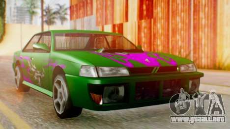El sultán Винил из need For Speed Underground 2 para GTA San Andreas