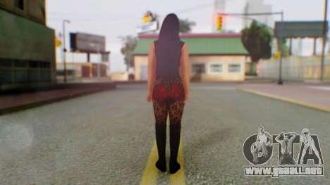 WWE Aksana para GTA San Andreas tercera pantalla