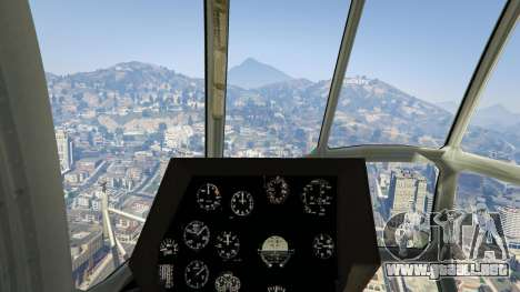 GTA 5 Mi-8 cuarto captura de pantalla