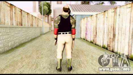 WWE Sgt Slaughter 2 para GTA San Andreas tercera pantalla