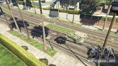 GTA 5 K2 Black Panther vista trasera