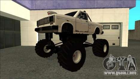 Bobcat Monster Truck para GTA San Andreas