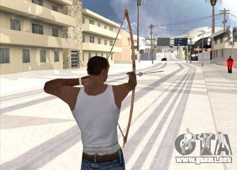 Tiro con arco para GTA San Andreas segunda pantalla