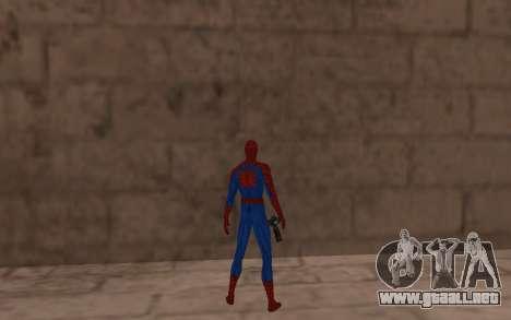 Amazing Spider-Man Comic Versión Robinosuke para GTA San Andreas sucesivamente de pantalla
