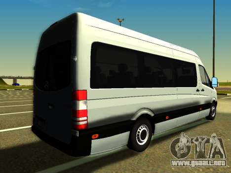 Mercedes-Benz Sprinter Long para GTA San Andreas left
