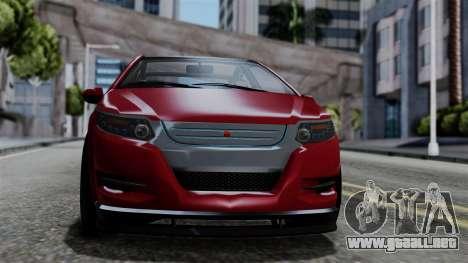 GTA 5 Cheval Surge IVF para GTA San Andreas vista posterior izquierda