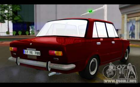 Fiat 124 para GTA San Andreas left