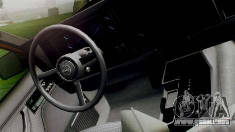 Jeep Cherokee 1984 4x4 para la visión correcta GTA San Andreas
