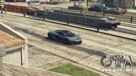 GTA 5 2014 McLaren P1 v2.0 vista lateral derecha
