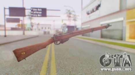 Arma OA Lee Enfield para GTA San Andreas segunda pantalla