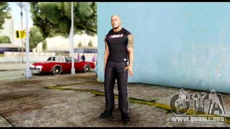 WWE The Rock 2 para GTA San Andreas segunda pantalla