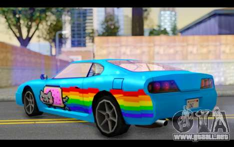 Jester PJ of Nyan Cat para GTA San Andreas left