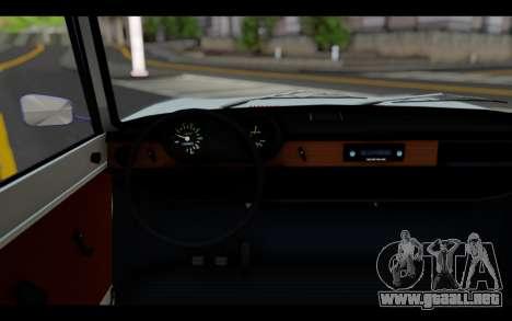 Wartburg 353 para GTA San Andreas vista posterior izquierda