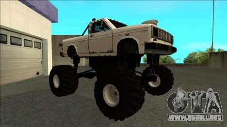 Bobcat Monster Truck para GTA San Andreas left