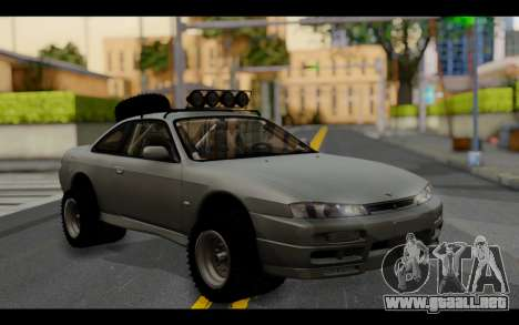 Nissan Silvia S14 Rusty Rebel para GTA San Andreas