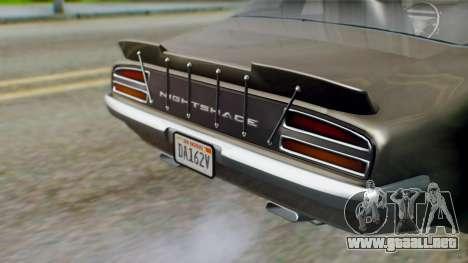 GTA 5 Imponte Nightshade IVF para visión interna GTA San Andreas
