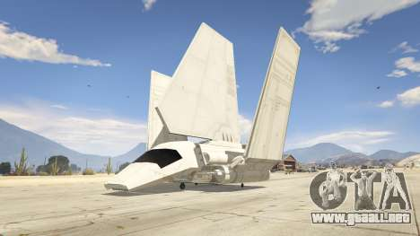 GTA 5 Star Wars: Imperial Shuttle Tydirium